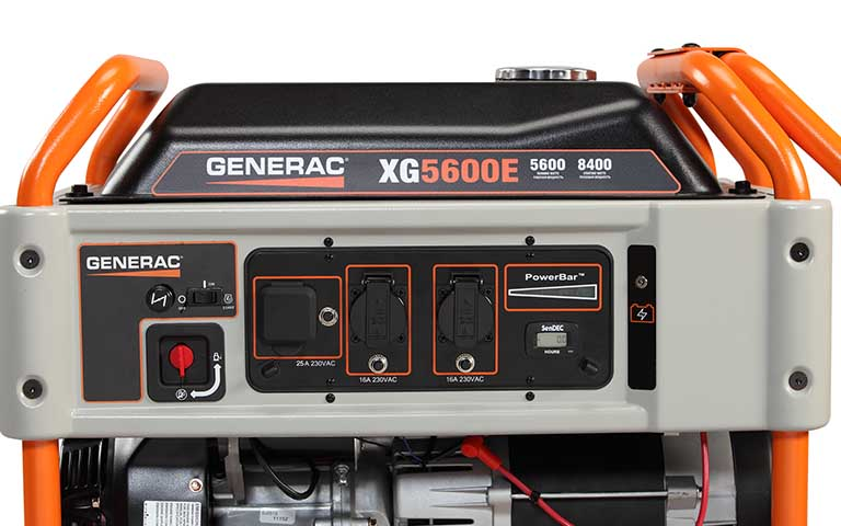 Generac Xg Series 6500e Portable Generator  U2013 Cn Computers And Energy Solutions Ltd